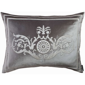 Lili Alessandra Paris Silver/Ivory Dec Pillows