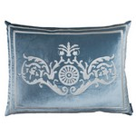 Lili Alessandra Paris Ice Blue/Ivory Dec Pillows