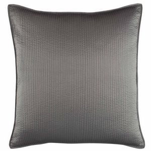 Lili Alessandra Retro Pewter Quilted Pillow