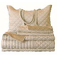 Silk & Sensibility Ivory/Ecru Reversible Bedding