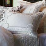 Lili Alessandra Vendome Silk & Sensibility Ivory Dec Pillows