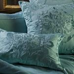 Lili Alessandra Vendome Silk & Sensibility Seafoam Dec Pillows
