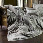 Lili Alessandra Vendome Silk & Sensibility Taupe Duvet Cover