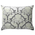 Lili Alessandra Versailles Silver Velvet with Ivory Applique Bedding Collection