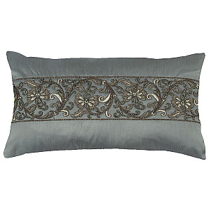 Lili Alessandra Zardozi Dec Pillows - Ancient Embroidery Crafted by Hand
