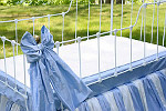 Lulla Smith Laundered Linen Decorative Crib Bows