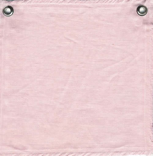 Lulla Smith Acadia Linen Ballet Pink Fabric