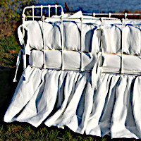 Lulla Smith Baby Bedding Athenia Linens - Laundered Linens