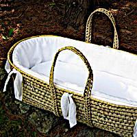 Lulla Smith Baby Bedding Athenia Moses Basket