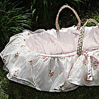 Lulla Smith Baby Bedding Belle Moses Basket