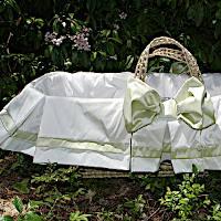 Lulla Smith Baby Bedding Capri Moses Basket