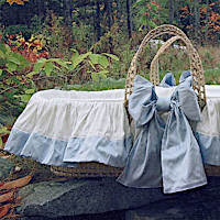 Lulla Smith Baby Bedding Classic Moses Basket
