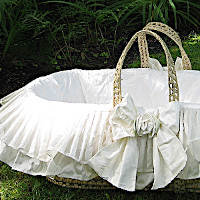 Lulla Smith Baby Bedding Dragonfly Moses Basket