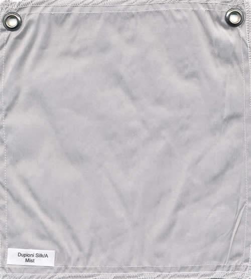 Lulla Smith  Dupioni Silk Fabric Sample - Mist