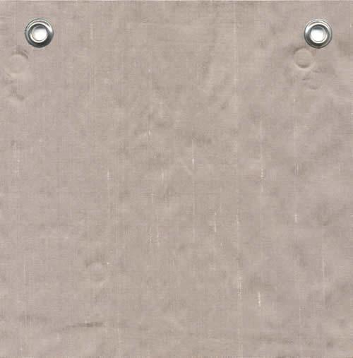 Lulla Smith  Dupioni Silk Fabric Sample - Taupe