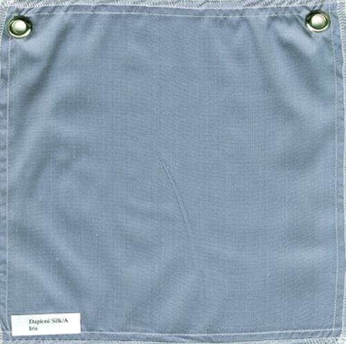 Lulla Smith  Dupioni Silk Fabric Sample - Iris