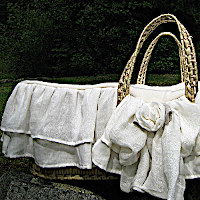 Lulla Smith Baby Bedding Edinburgh Moses Basket