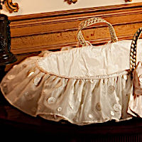 Lulla Smith Baby Bedding Lausanne Moses Basket