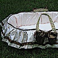 Lulla Smith Baby Bedding Maggie Moses Basket