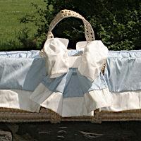 Lulla Smith Baby Bedding Newcastle Moses Basket
