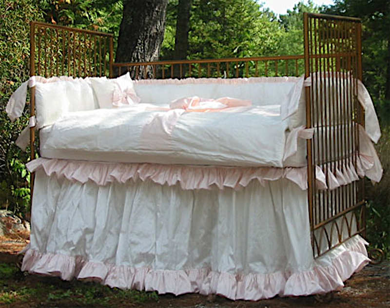 Lulla Smith Crib Bedding Pretty Baby Set, Pretty Baby Crib Bedding