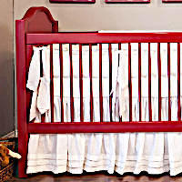 Lulla Smith Baby Bedding San Sebastian Linen Set - Laundered Linen