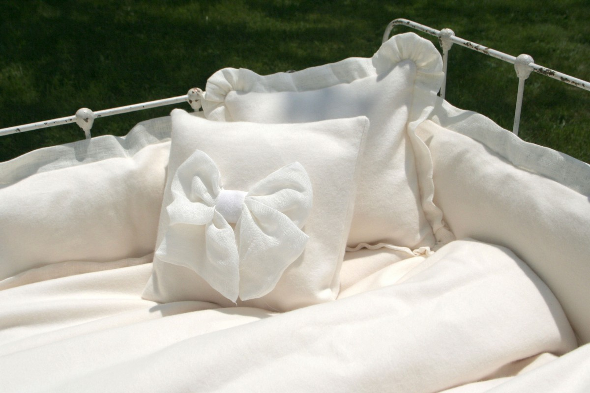 Lulla Smith Baby Bedding Sorrento Linen Set Organic