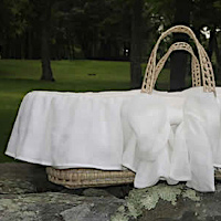 Lulla Smith Baby Bedding Sorrento Moses Basket