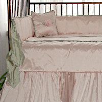 Lulla Smith Baby Bedding Sylvie Linens - Dupioni Silk