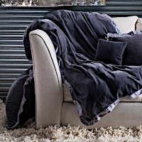 Lulla Smith Bedding Emerson Douillette/Throw and Decorative Pillows