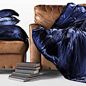 Lulla Smith Bedding Longfellow Douillette & Pillow Swatch
