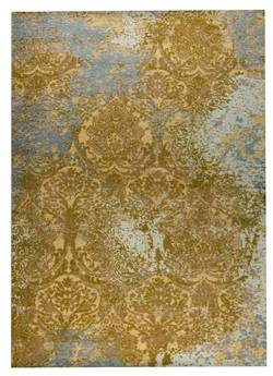 MAT Orange Austin Area Rug - Rust Grey