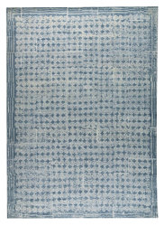 Mat-Orange-Burbank-Light-Blue-new-zealand-wool-rug-thumb