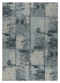 MAT Orange Cleveland Area Rug - Grey