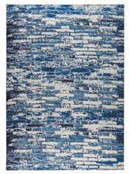 Mat-Orange-Fargo-Blue-new-zealand-wool-rug-thumb