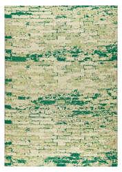 Mat-Orange-Fargo-White-Green-new-zealand-wool-rug-thumb