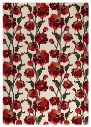 Mat-Orange-Fiore-White-Red-viscose-wool-rug-thumb-200