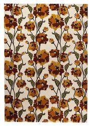 Mat-Orange-Fiore-White-Rust-viscose-wool-rug-thumb-200