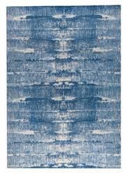 MAT Orange Jackson Area Rug - Blue
