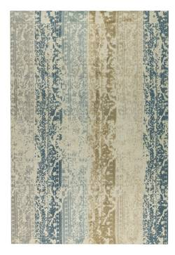 MAT Orange Madison Area Rug - Beige