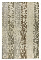 Mat Orange Madison Area Rug - Silver Beige