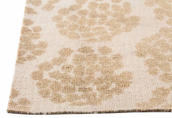 MAT Orange Midland Area Rug - Beige