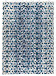 Mat-Orange-Modesto-Blue-new-zealand-wool-rug-thumb