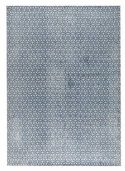 MAT Orange Norman Area Rug - Grey