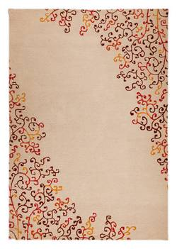 MAT Orange Sina Area Rug - Red Multi