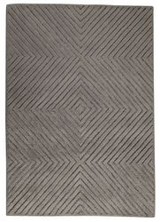Mat Orange Union Square Area Rug - Grey