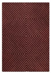 Mat Orange Union Square Area Rug - Mauve