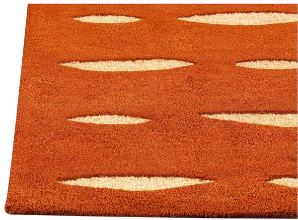 MAT Orange Wink Area Rug - Orange
