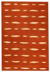 Mat Orange Wink Area Rug - Orange
