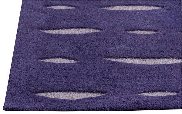 MAT Orange Wink Area Rug - Blue Purple